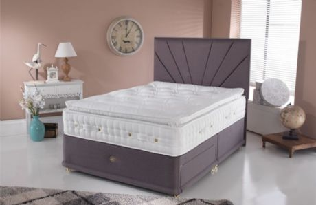 Princess 4000 Gel 135cm Divan Set